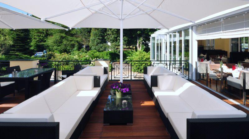Sommerküche Auf Terrasse : Treffpunkt terrasse u hotel restaurant dresel