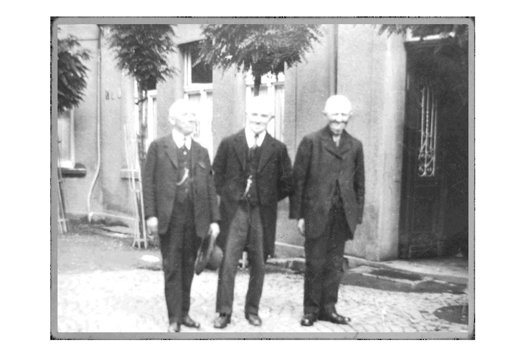 Historisches Foto aus der Geschichte des Dresel