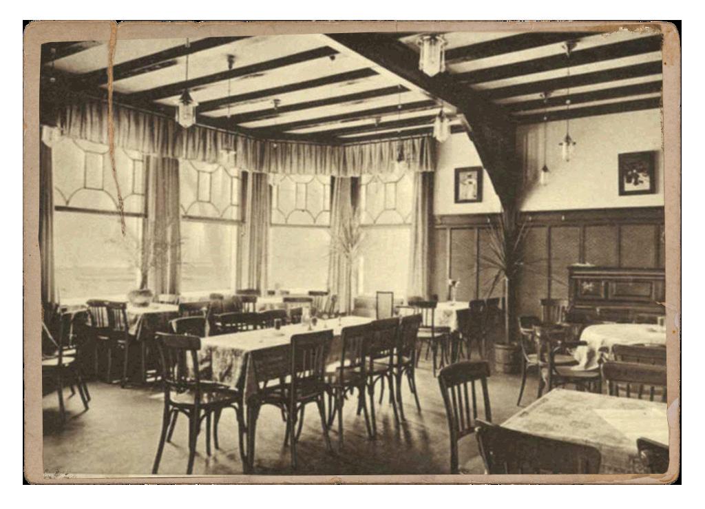 Aufnahme aus der Geschichte des Hotel Dresel